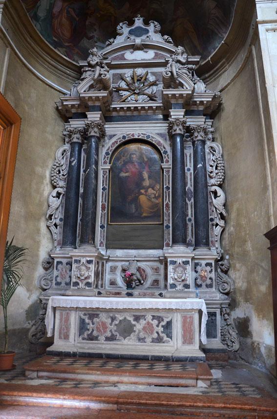 Altare della Madonna Vecchia o dei Lanari
